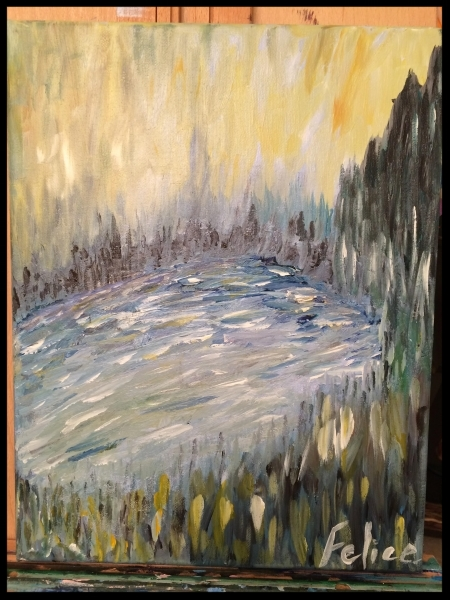 Forest Pond (sold in museum art show).jpg