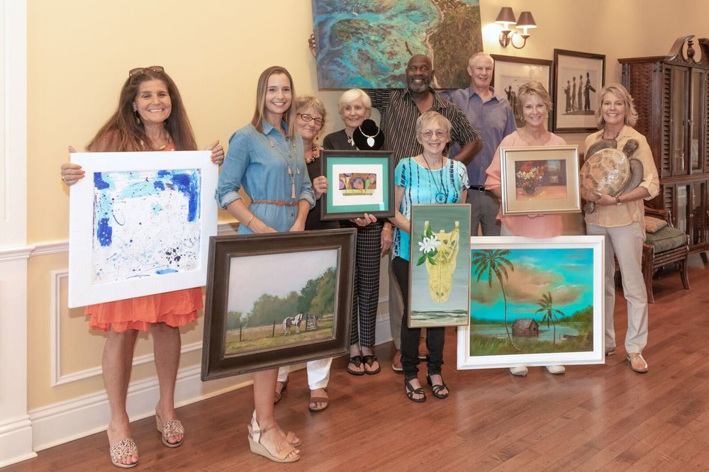 Artists pictured were from our 2018 Art Trail