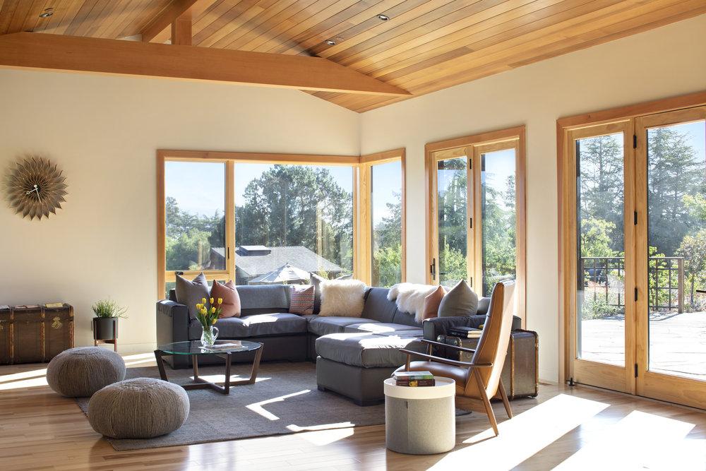 Los Altos Hills MidCentury Farmhouse