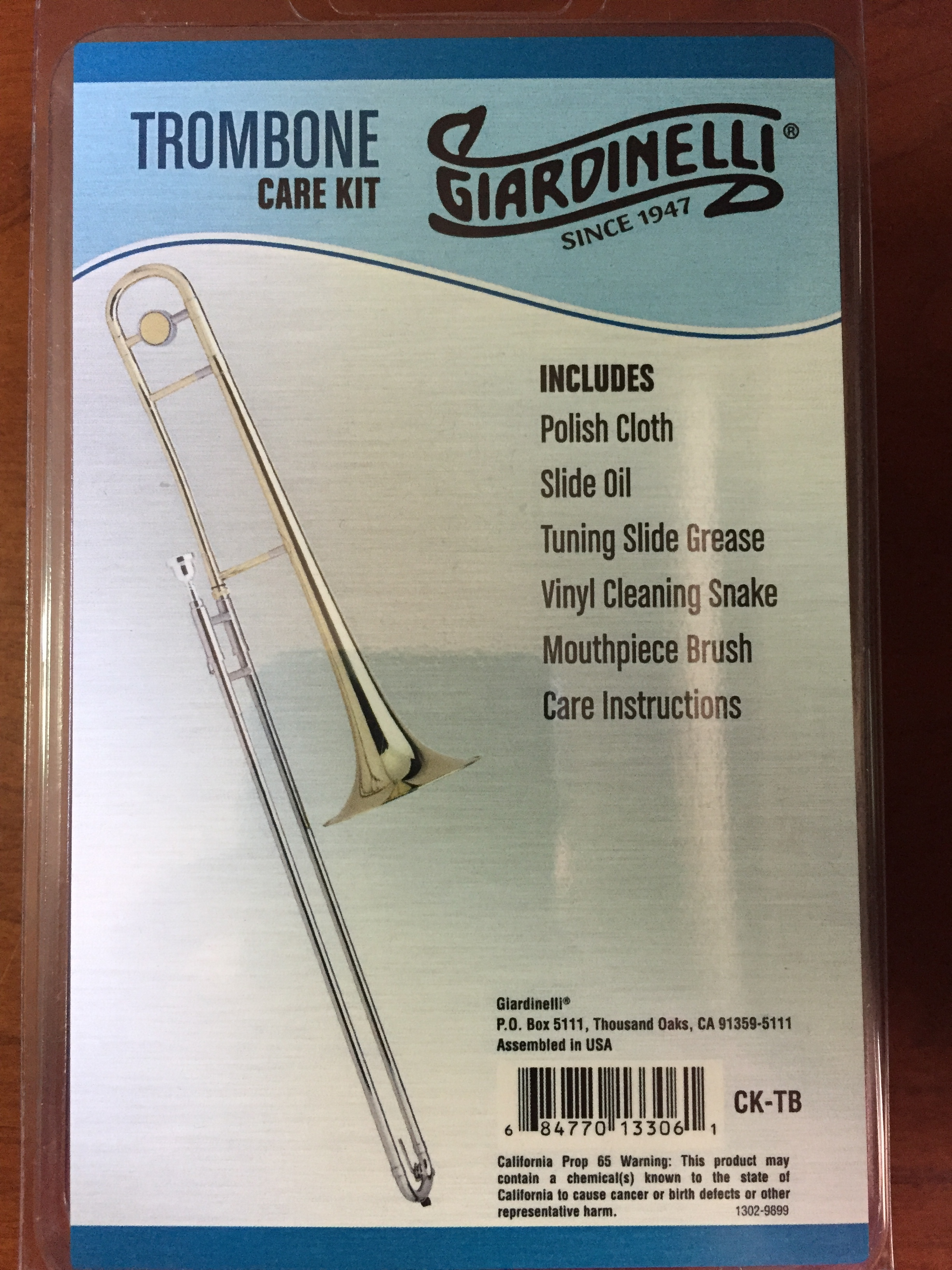 Giardinelli Trombone Care Kit