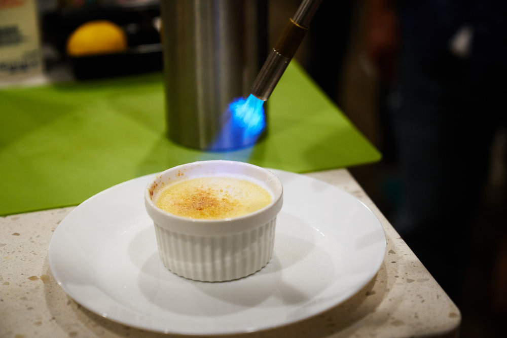 YUM - crème brule!