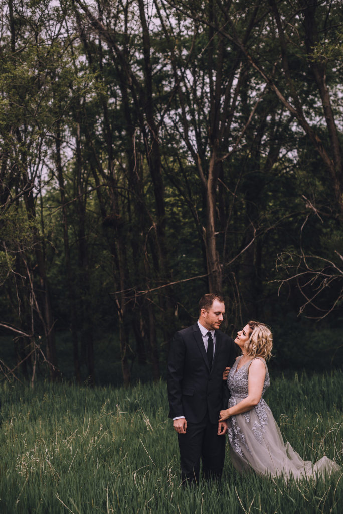 Couple Photo in Woods, Anniversary Session by Stewart Photography