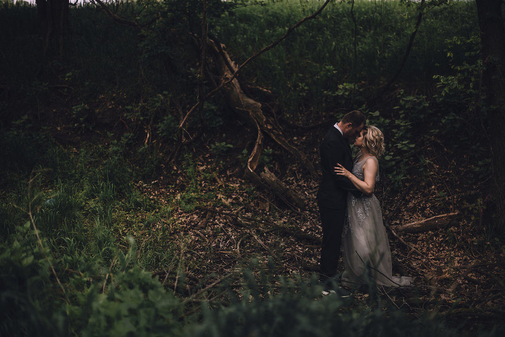 Romantic couple in woods, Anniversary Session by Stewart Photography