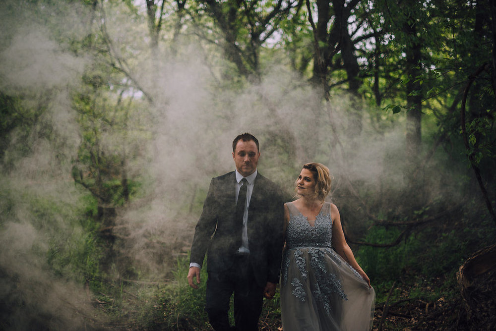Magical couple in woods, Anniversary Session by Stewart Photography