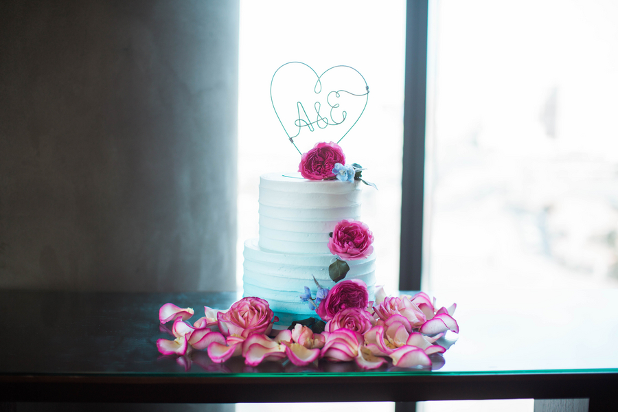 Ashley Giffin Photography Wedding Cake