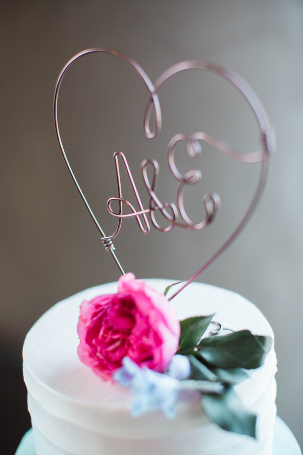 Ashley Giffin Photography Wedding Cake Detail