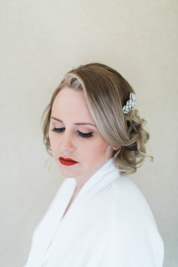 Ashley Giffin Photography Bride Portrait