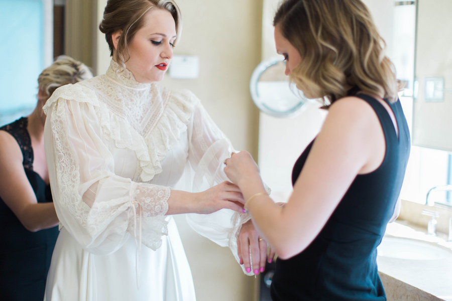 Ashley Giffin Photography Bride Dressing