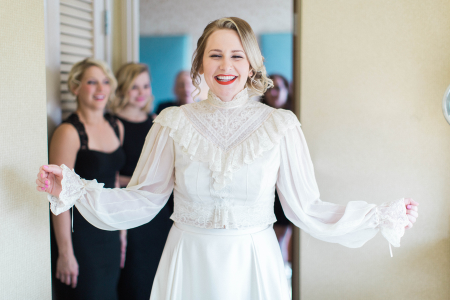 Ashley Giffin Photography Bride Smiling