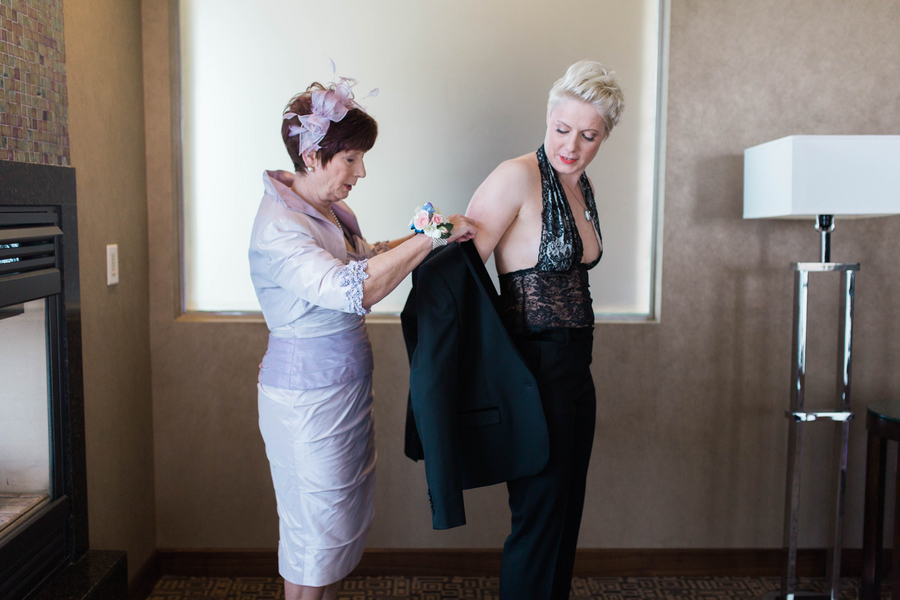 Ashley Giffin Photography Getting Dressed