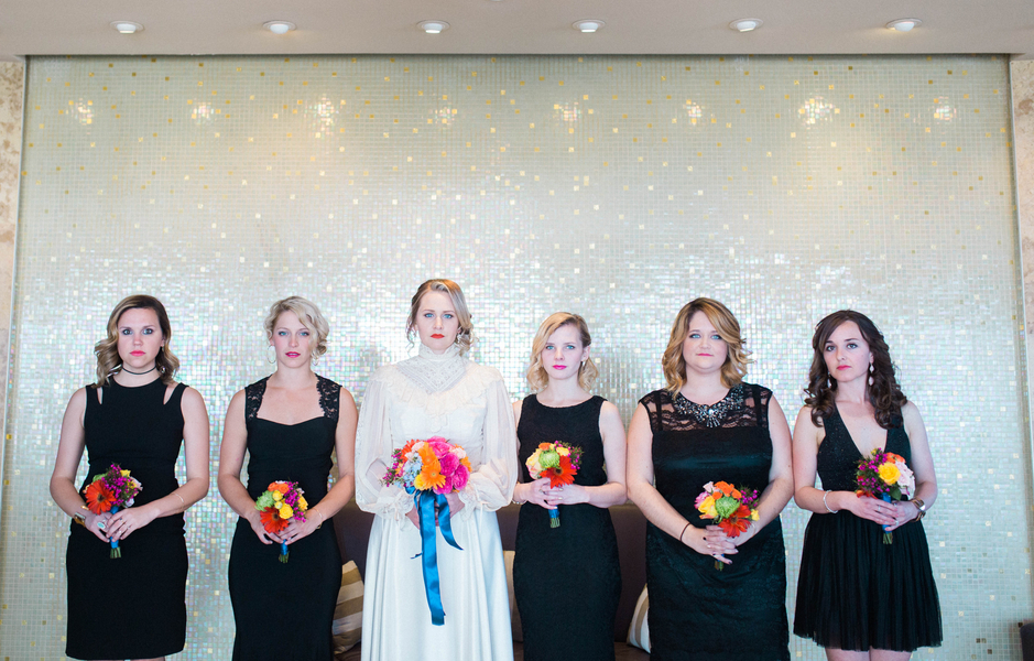 Ashley Giffin Photography Wedding Party