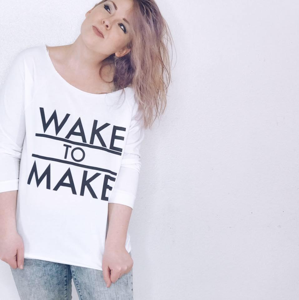 Lilah Wake to Make t-shirt