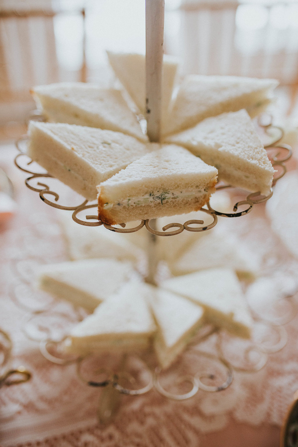 Sandwich details, Tea Party Themed Baby Shower | Kate Olsen Photography