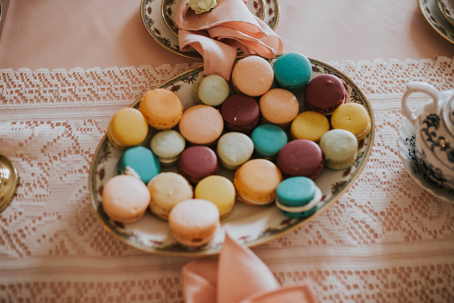 Macaroon ,Tea Party Themed Baby Shower | Kate Olsen Photography