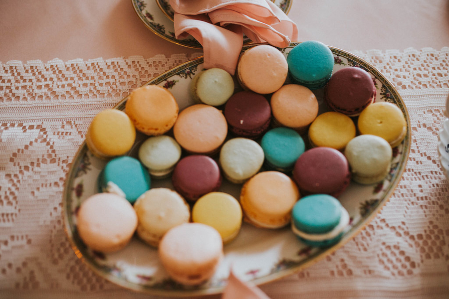Macaroon, Tea Party Themed Baby Shower | Kate Olsen Photography