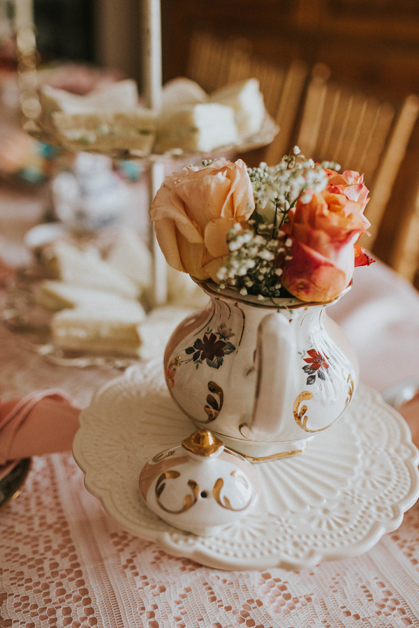 Roses, Tea Party Themed Baby Shower | Kate Olsen Photography