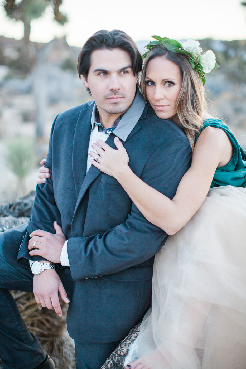 Profile photo of couple, Joshua Tree Anniversary Session | Lindsey Parkin Photography