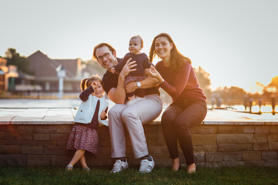 Silly family photo, Family Lifestyle Session on the Bay | Tiffany Caldwell Photography