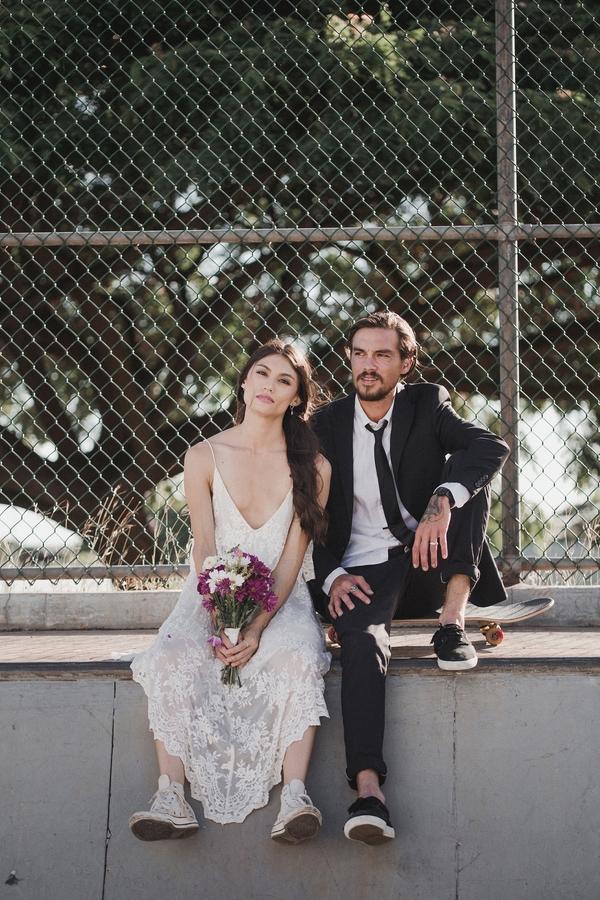 Skate Park Wedding Session 2