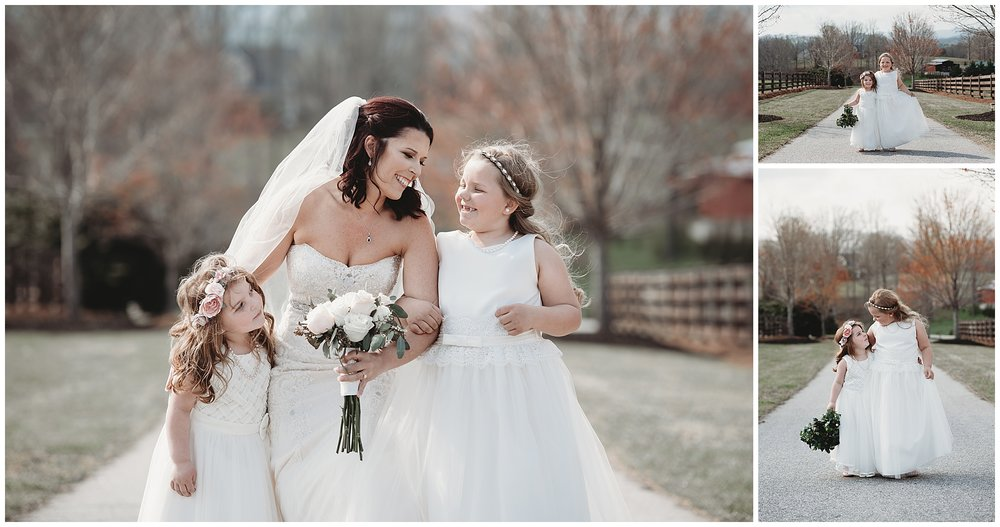 Could these flower girls be any cuter?! I think not.