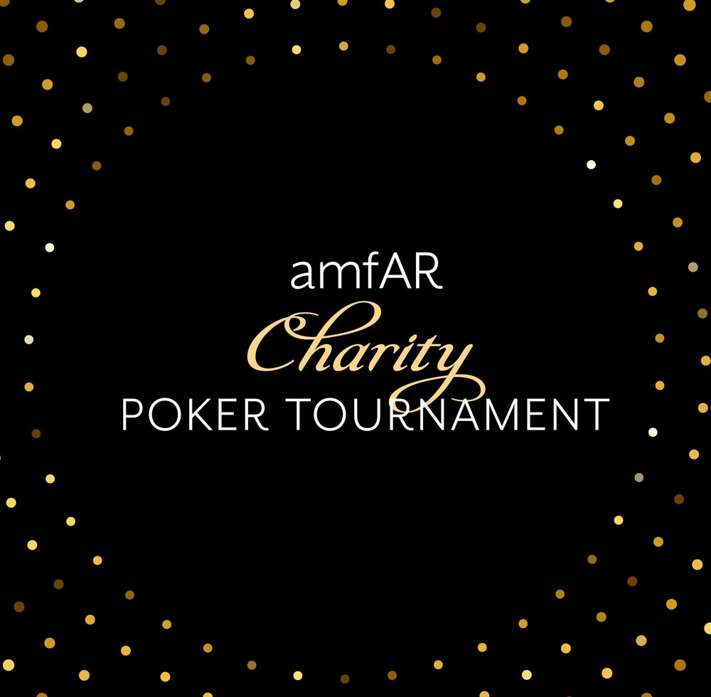 amfAR Charity Poker Tournament