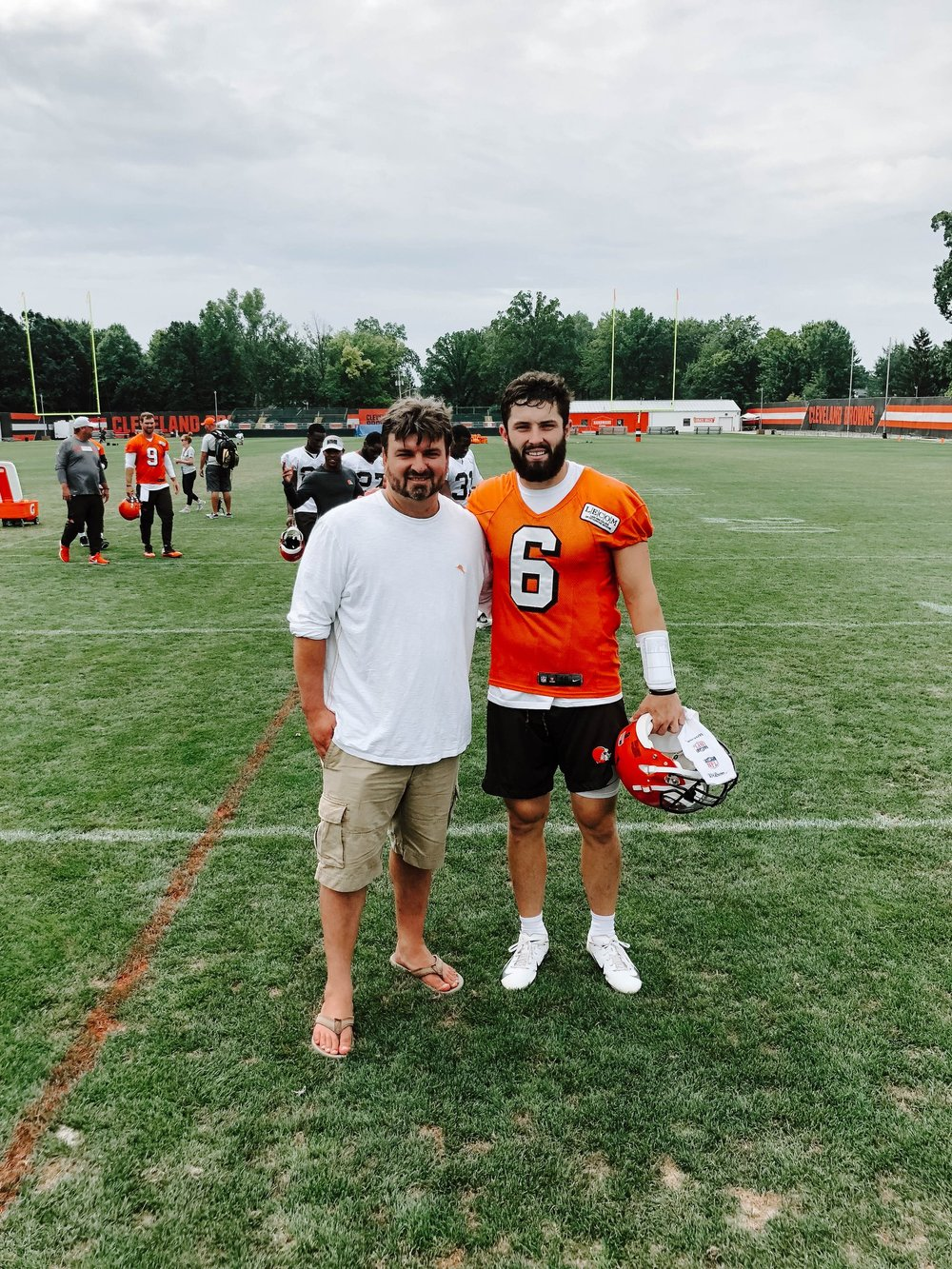 IfOnly  - Browns Training Camp Experience
