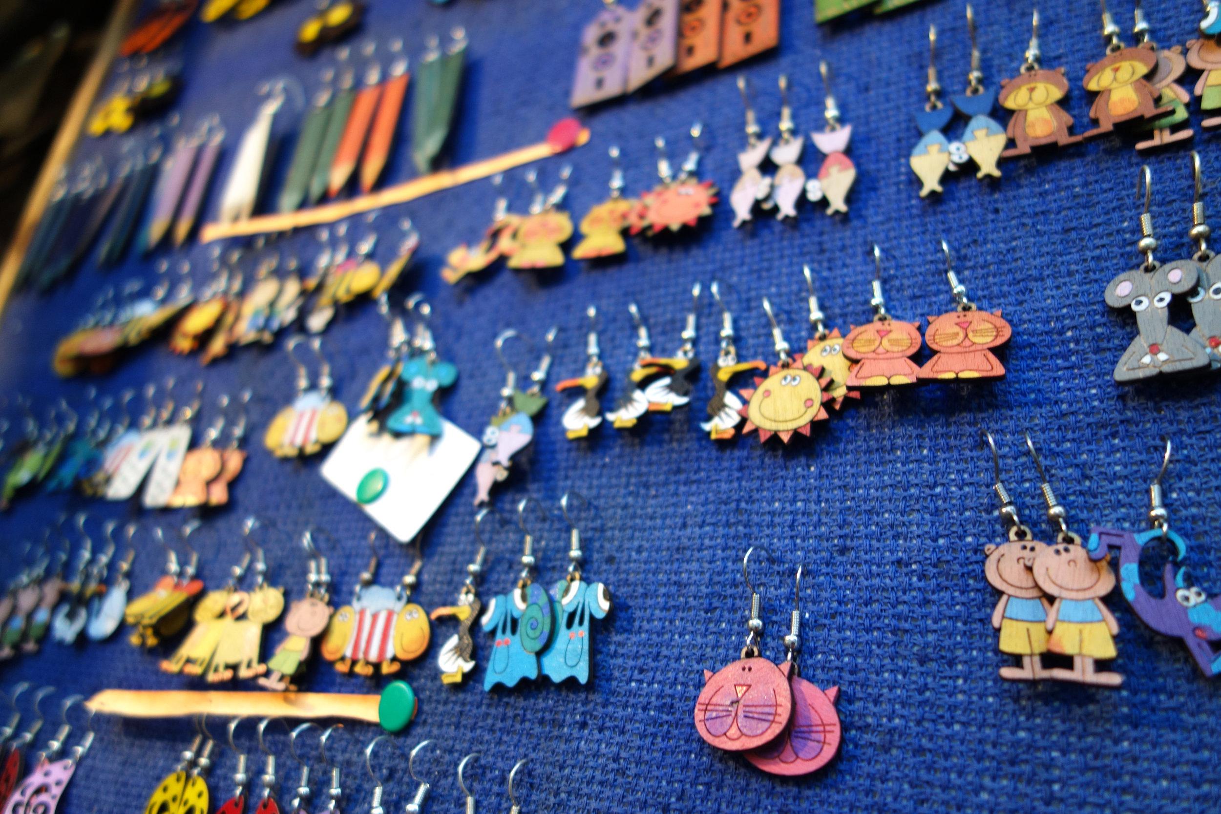 Prague earrings