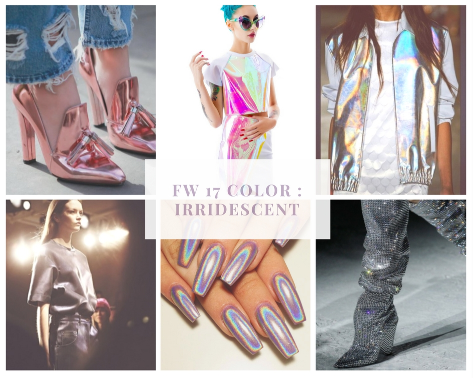 FW 2017 Color Trend Holographic