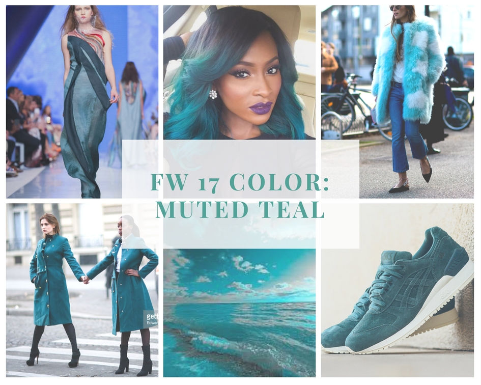 FW 17 Color Trend Teal