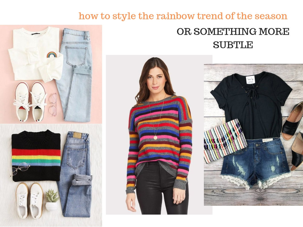 TRENDING for 2019: How to Style Rainbows