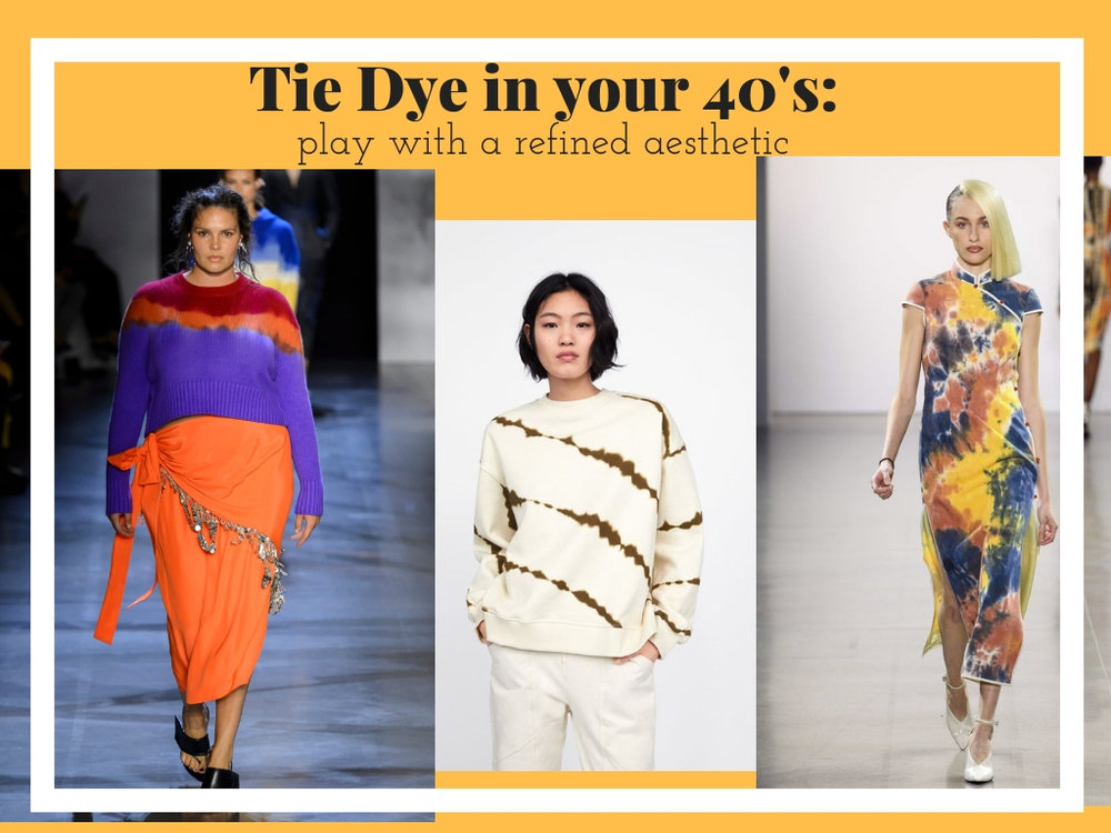 How to Wear Tie Dye in your 40s