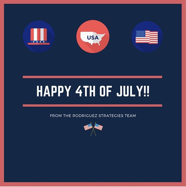 Happy Independence Day from Rodriguez Strategies! 🇺🇸🎆