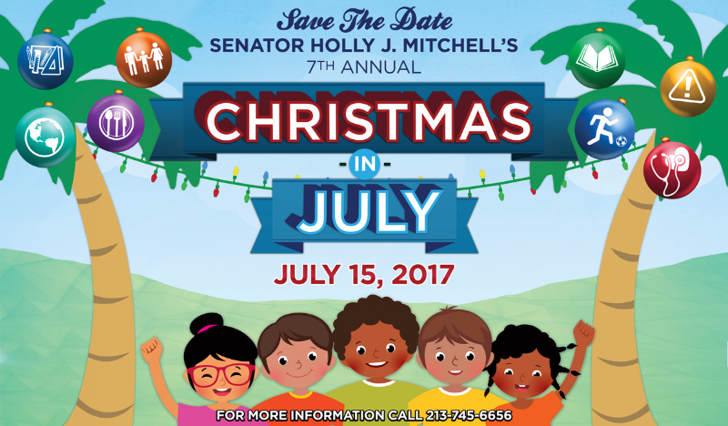 Christmas in July Senator Mitchell