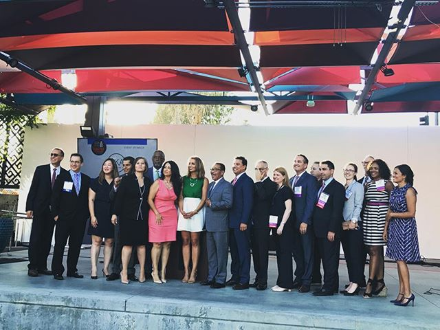 From tonight's #CCA Elected Officials Reception in #DTLA - thank you to Jessica Lall, Asm Miguel Santiago & Councilmembers Monica Rodriguez, Nury Martinez, Curren Price, Herb Wesson, Jose Huizar, Bob Blumenfield, and Mitch O'Farrell for hosting! 👏🏻🌆