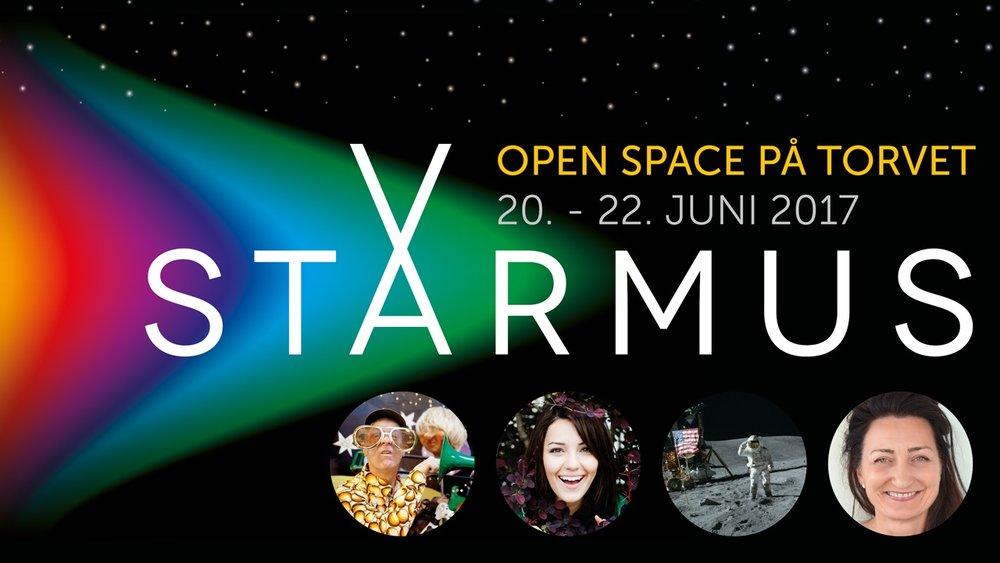 Starmus in the city - Koordinator for Starmus Byprogram 2017Markedsføring for Starmus Byprogram 2017