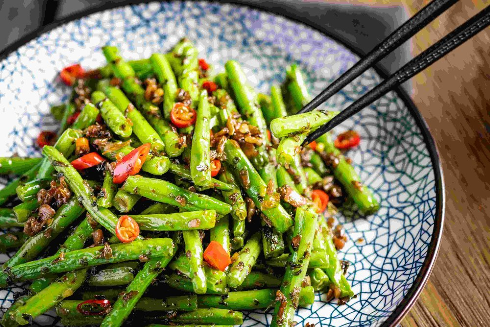 Stir fried String beans and preserved vegetables2.jpg
