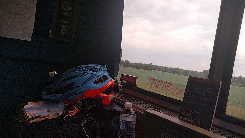 Amtrak view of Wisconsin