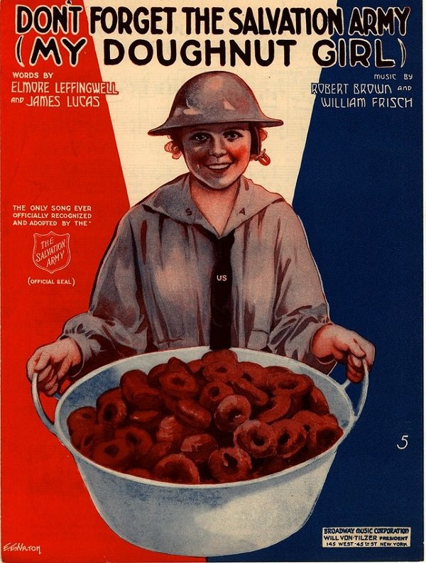 WWII Salvation Army Poster