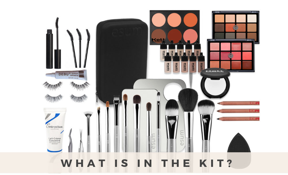 The essentials makeup kit - $1075