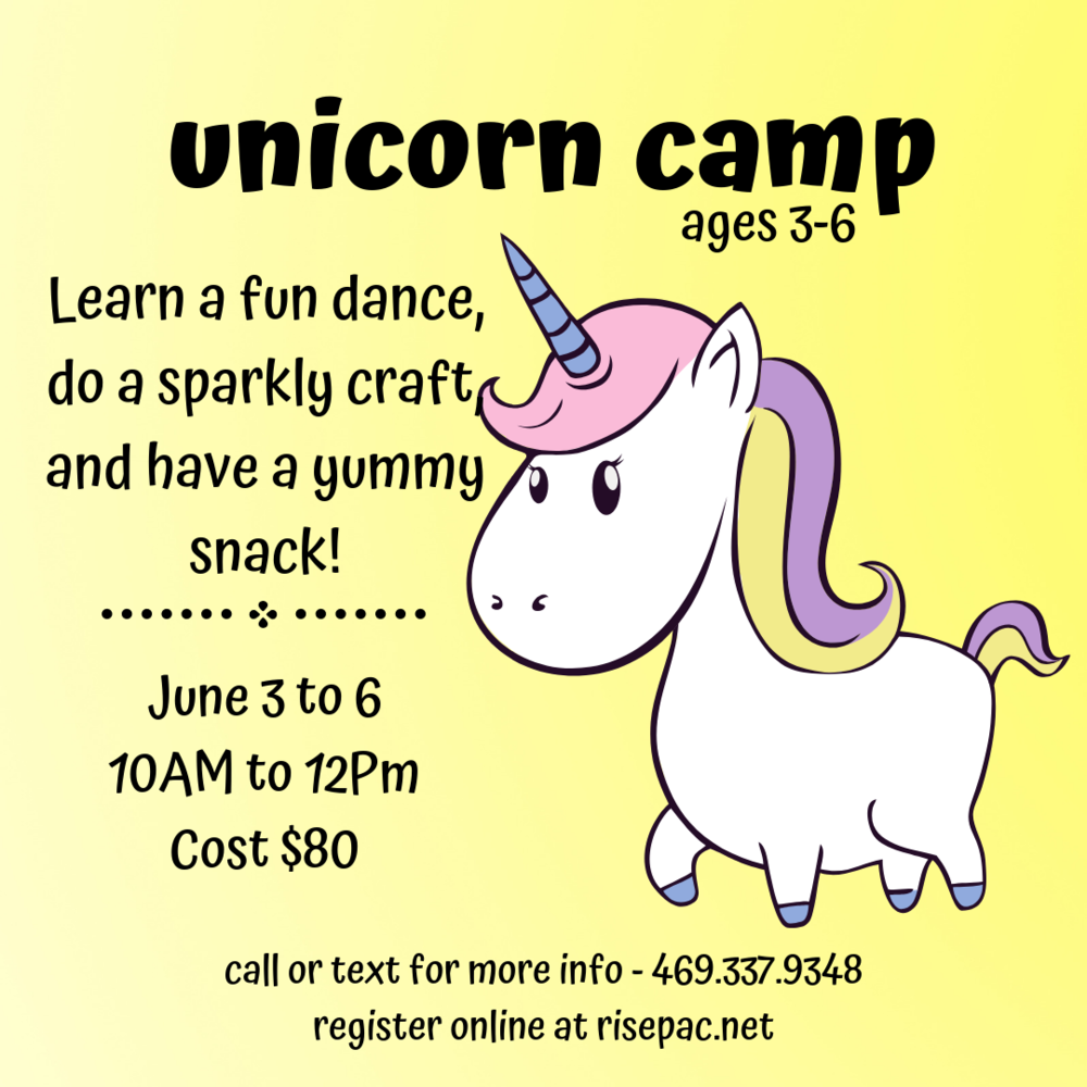 Unicorn Dance Camp