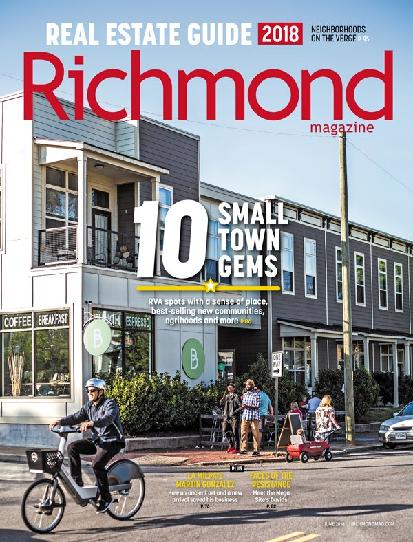 RICHMOND MAGAZINE COVER - JUSTIN CHESNEY