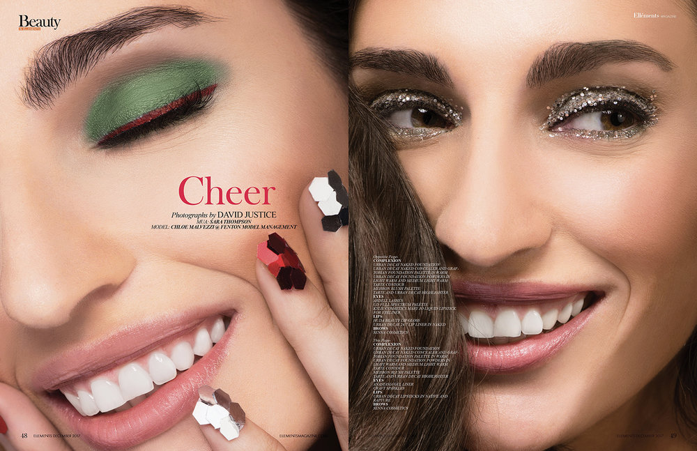 Cheer in Ellements Magazine