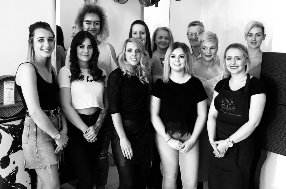 The Innovate Hair Salon Team