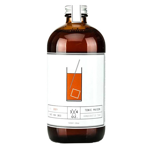 3/4 OZ - Handcrafted Tonic 500ml