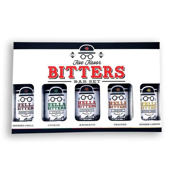 Hella Cocktail Co. - Full Variety Bitters Pack (5 x 30ml)