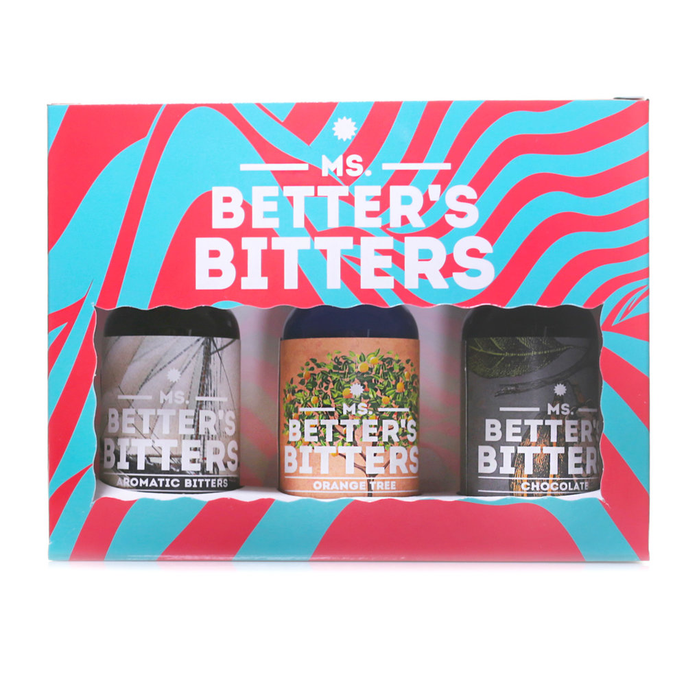 Ms Better's Bitters - Old Fashioned 3 x 30ml Pack (Aromatic/Orange/Chocolate)