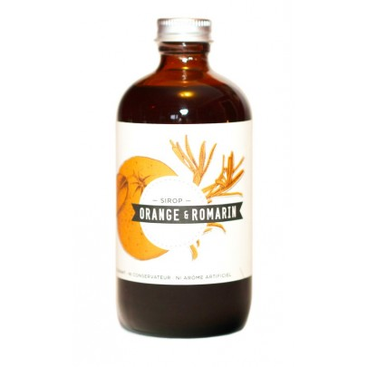 Les Charlatans - Orange & Rosemary Syrup 235ml