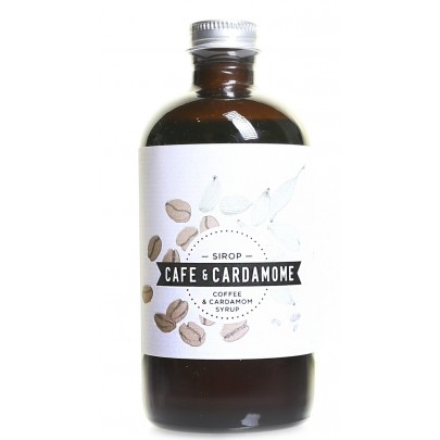 Les Charlatans - Coffee & Cardamom Syrup 235ml