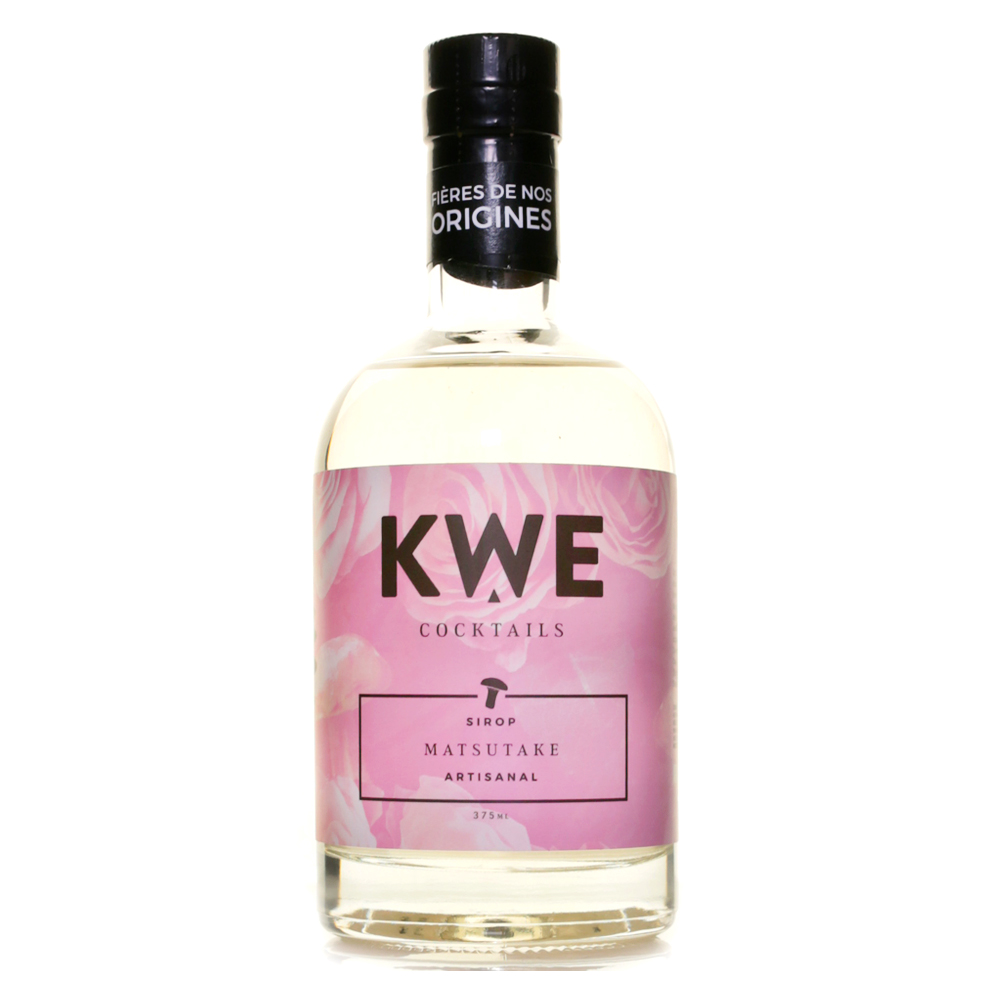 Kwe Cocktails - Matsutake Syrup 375ml