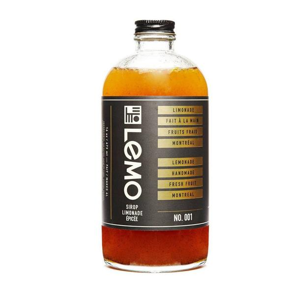 LEMO Lemonade - Spiced Lemonade Syrup 473ml